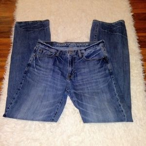 American Eagle Original Boot Jeans Whiskering